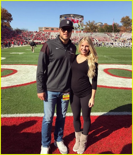 Who Is Matthew Staffords Wife Meet Longtime Love Kelly Stafford