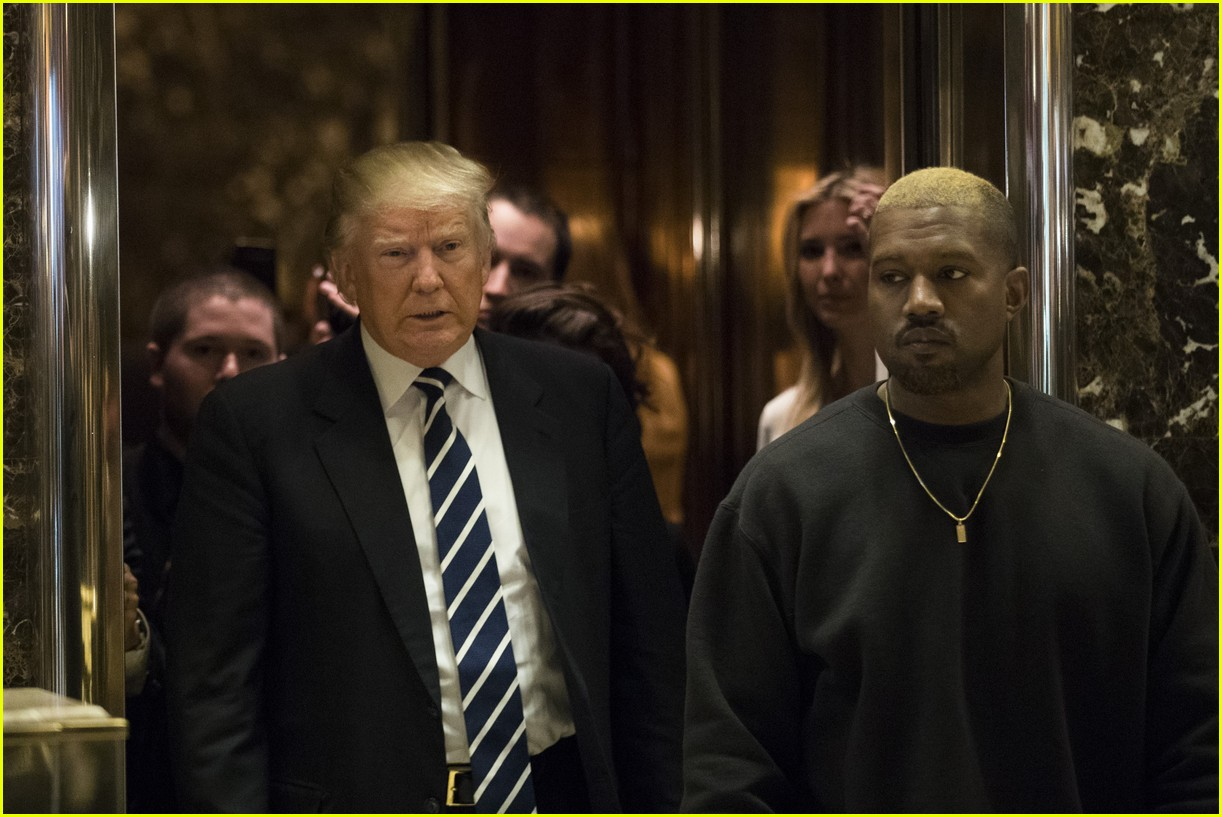 why kanye west meet donald trump 133827312