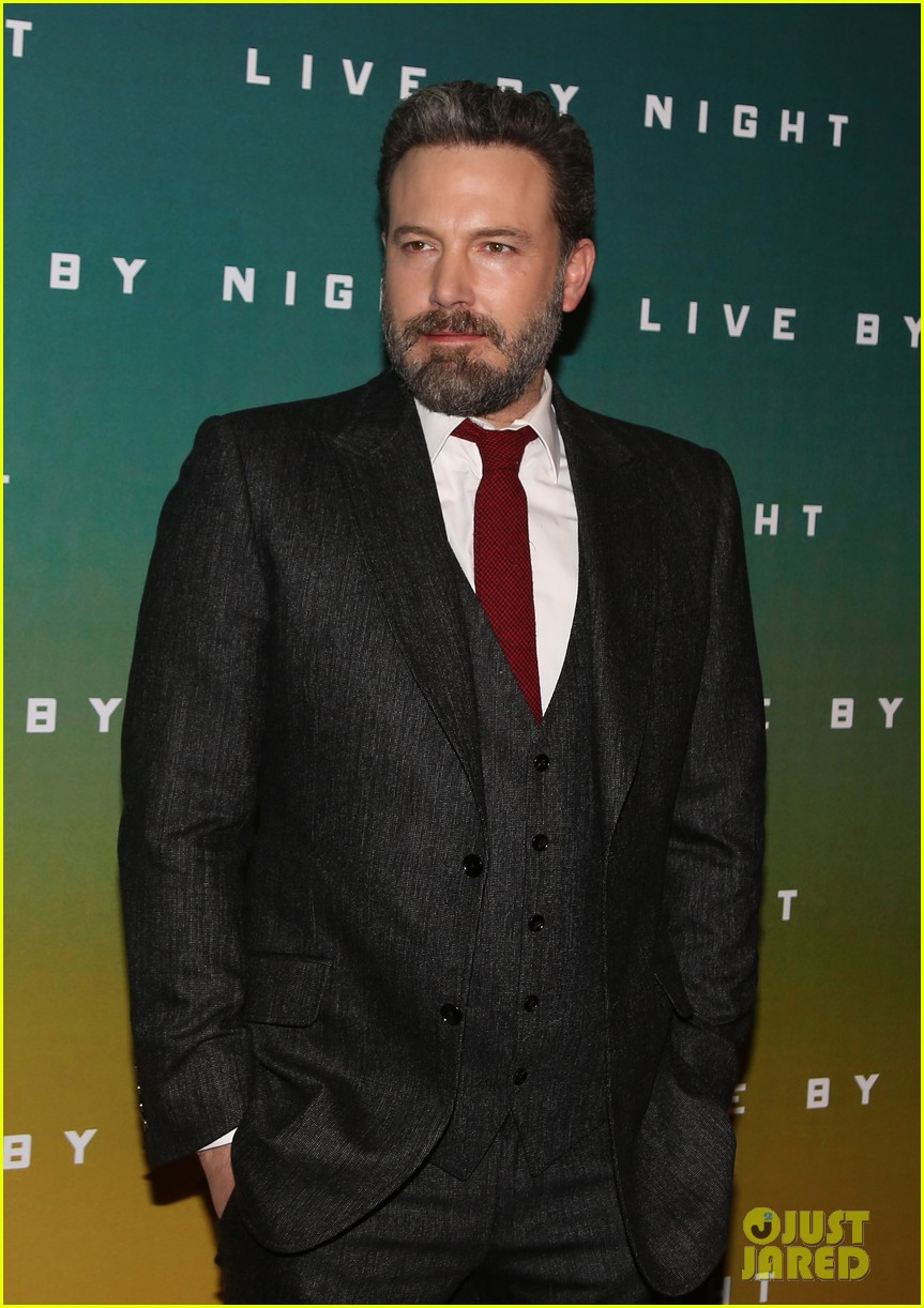 ben affleck live by night paris premiere 053843242