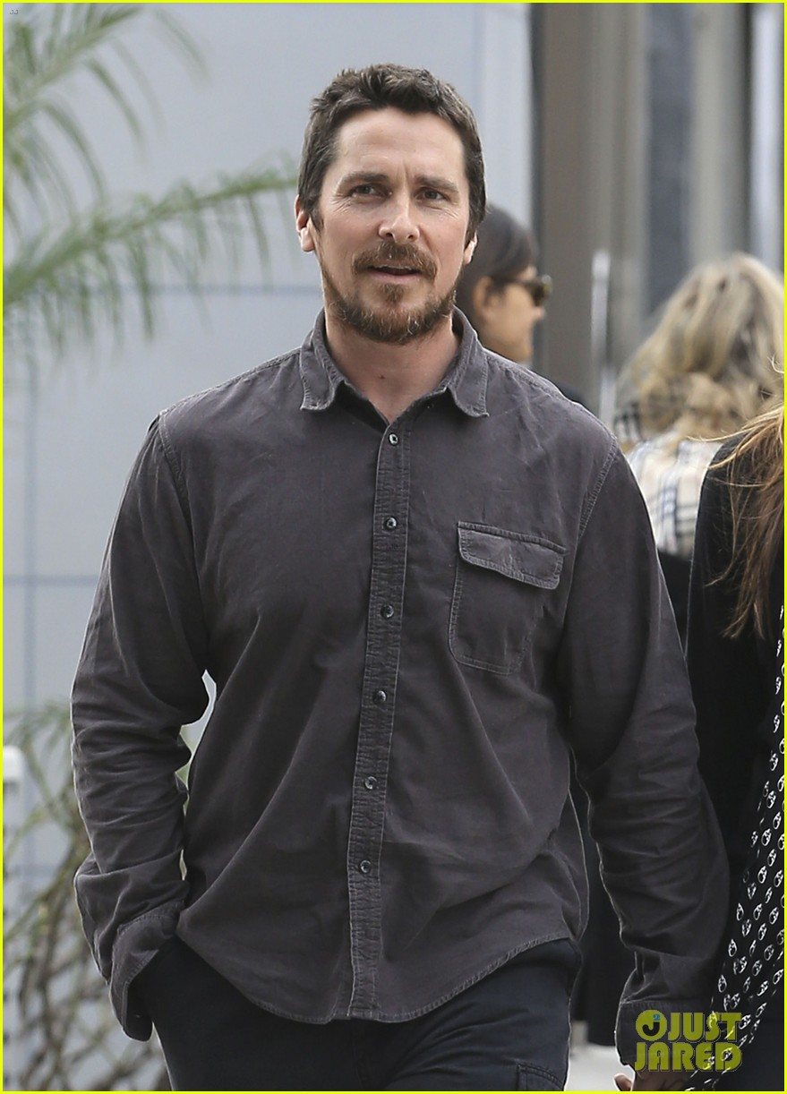 christian bale sibi blazic hold hands stroll around town 043844941