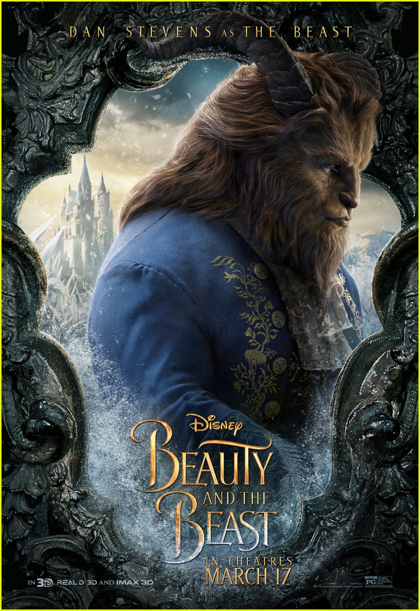 beauty beast character posters movie 013848175