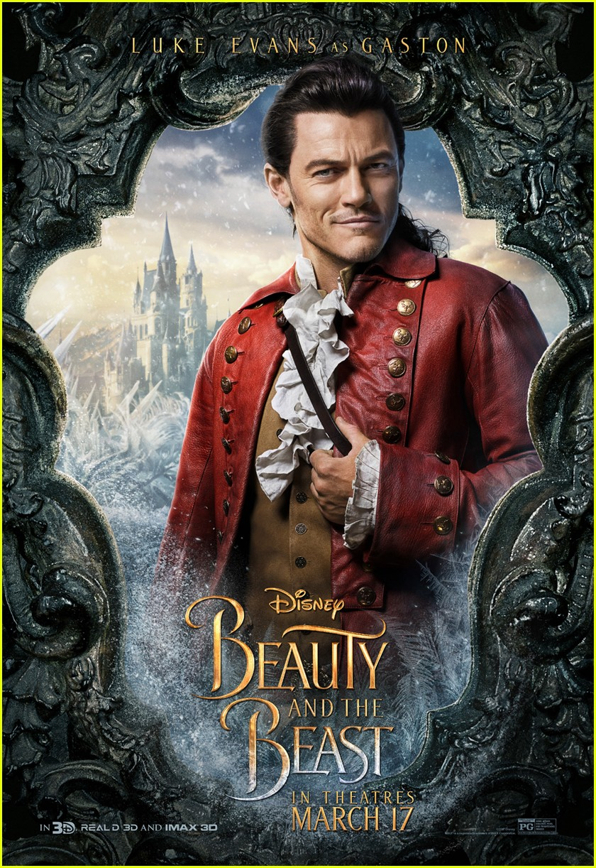 beauty beast character posters movie 043848178