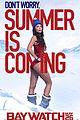 baywatch unveils new posters zac efron dwayne johnson 05