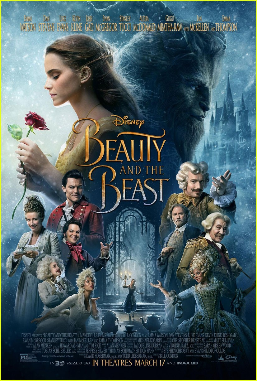 new beauty and the beast poster features full cast 013838827