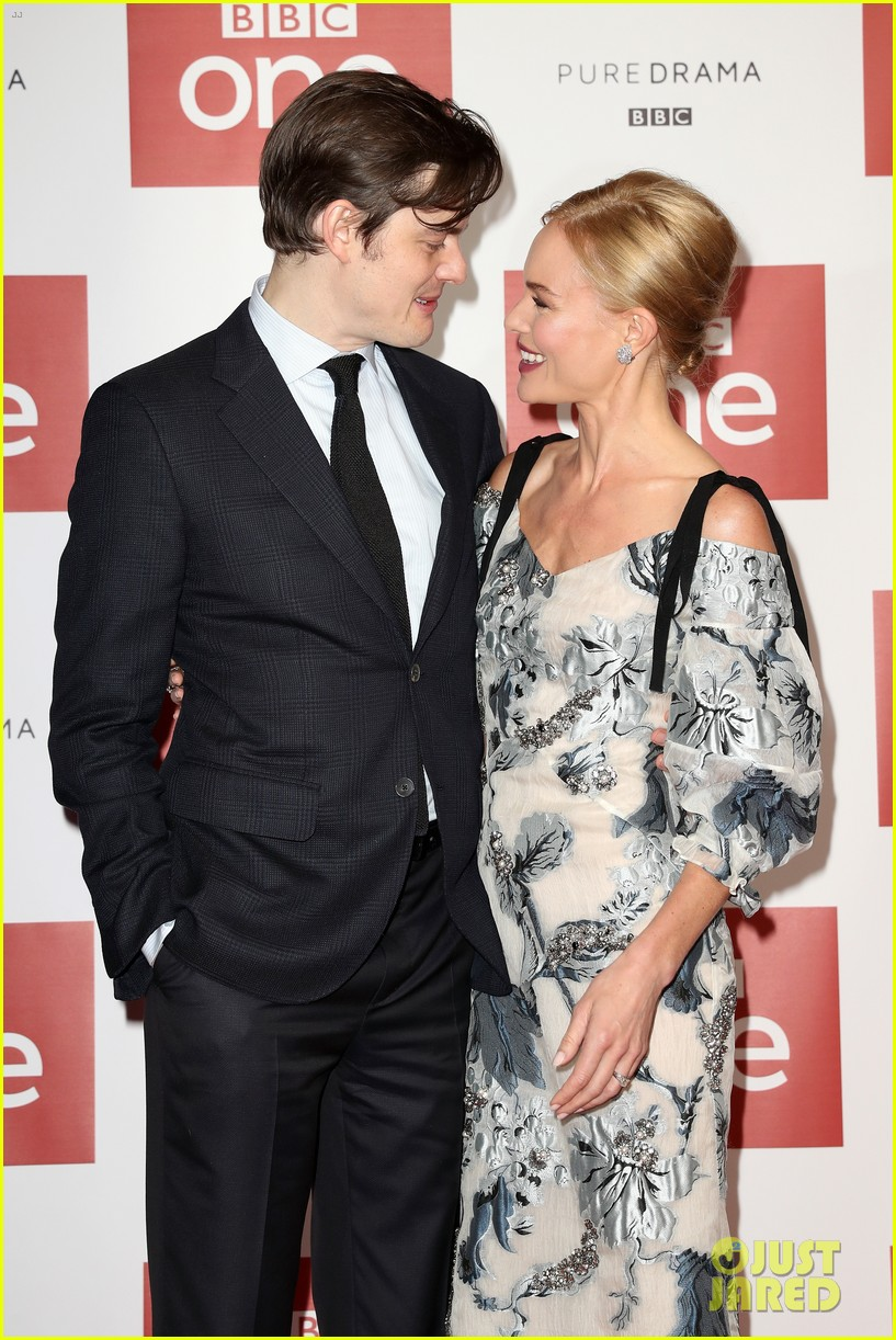 Kate Bosworth Premieres New Series 'SS-GB' with Sam Riley