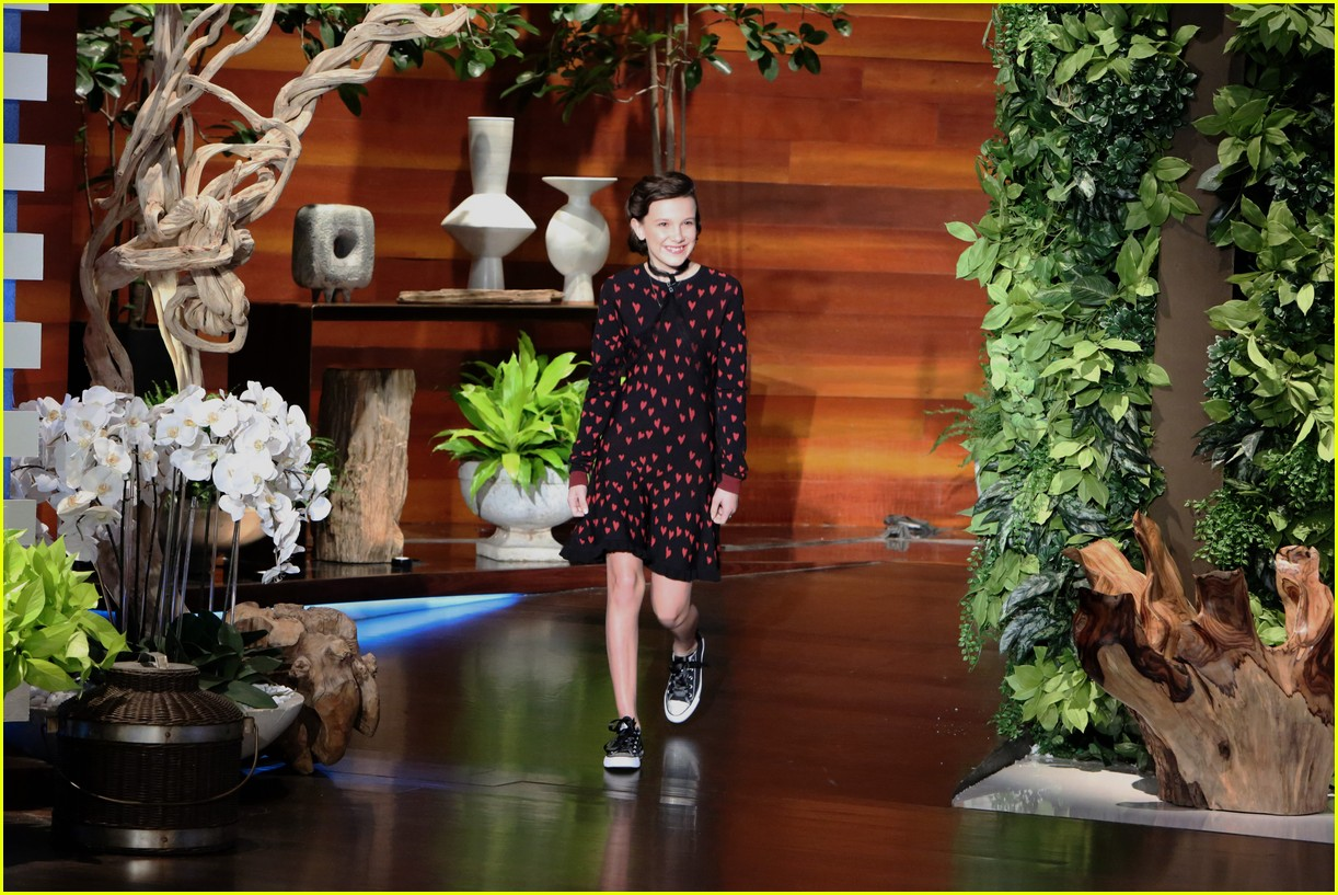 millie bobby brown ellen show appearance 013840112