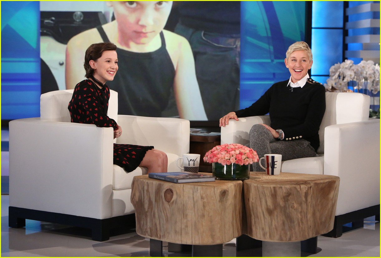 millie bobby brown ellen show appearance 023840113