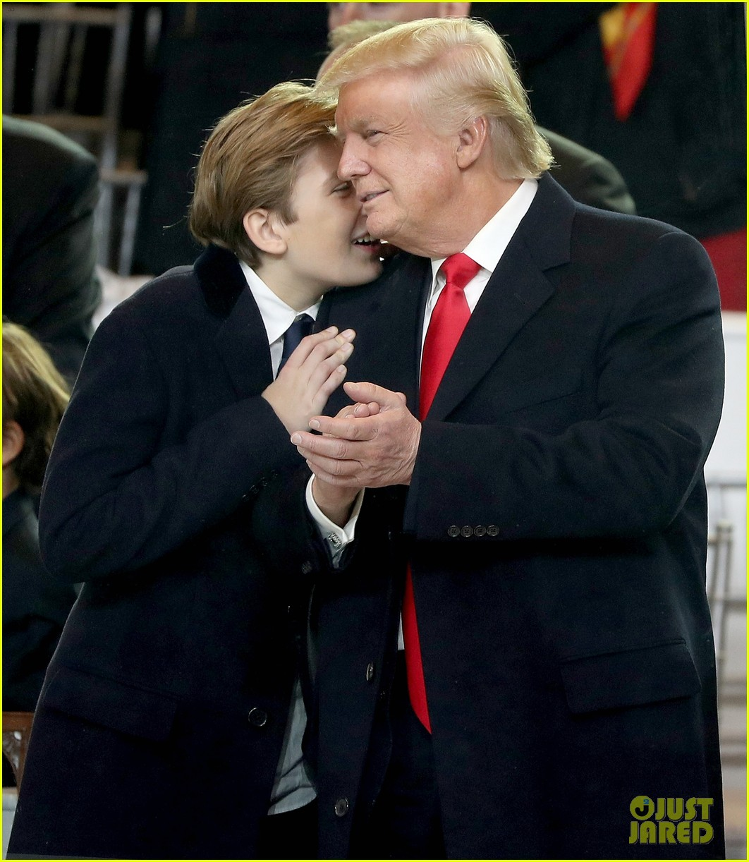 chelsea clinton defends barron trump right to just be a kid 013846205