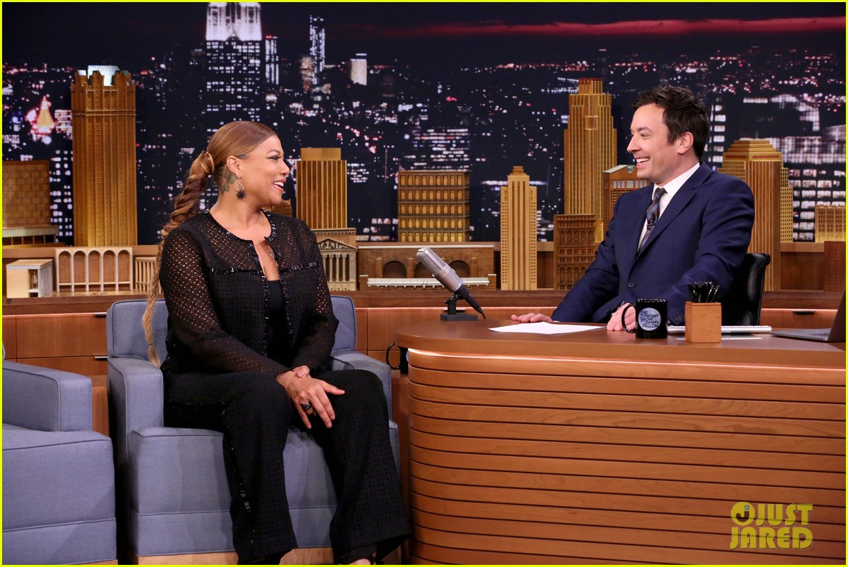 jimmy fallon plays humannequins with queen latifah wayne coyne fred armisen 073841201
