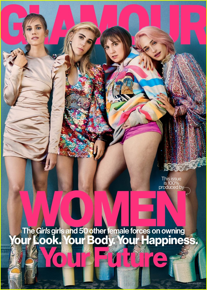girls cast glamour magazine february 2017 013835993
