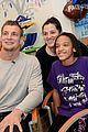 rob gronkowski spends the day visiting patients 01