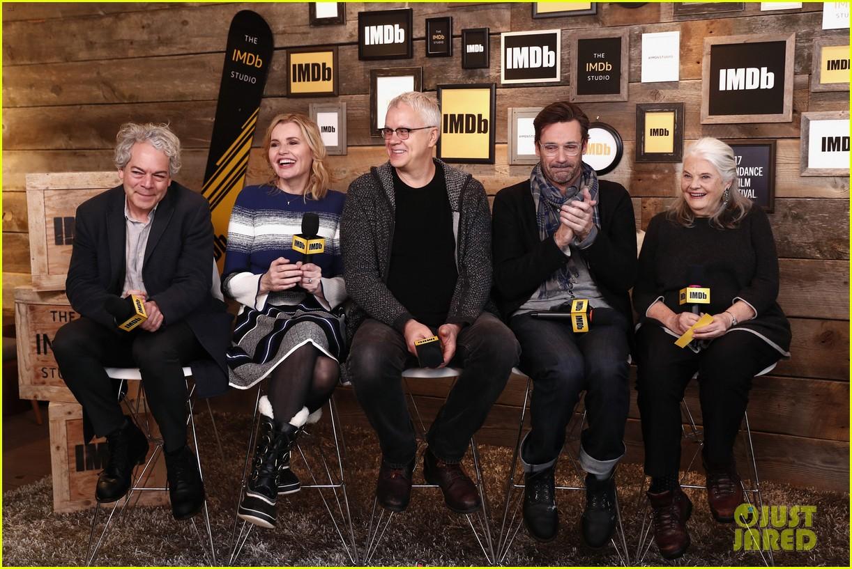 Jon Hamm Praises Sam Elliott After Reuniting At Sundance Photo