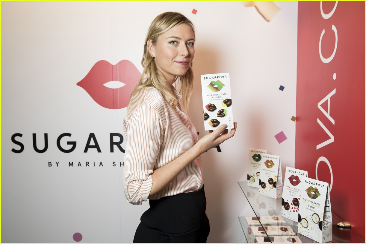 Maria Sharapova Introduces Yummy New Sugarpova Chocolates ...