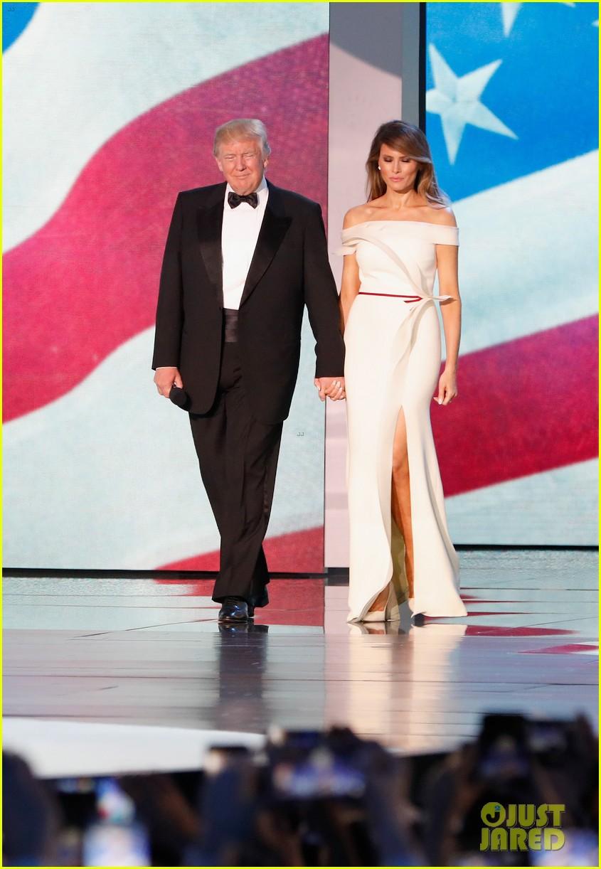 who designed melania trump inaugural ball gown 013845478