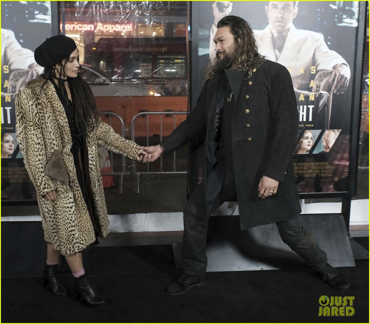 Jason Momoa & Wife Lisa Bonet Make Rare Red Carpet