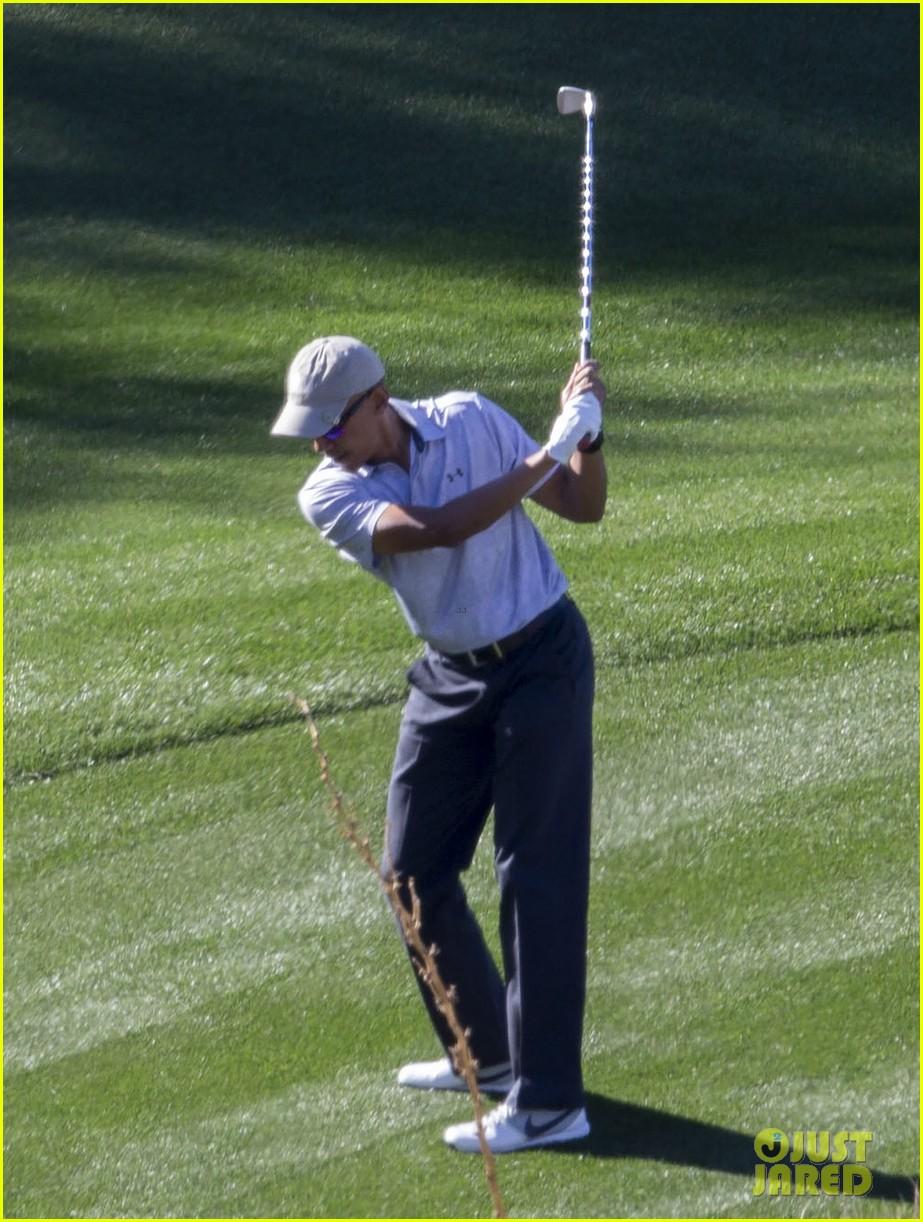 barack obama golf palm springs 023846083
