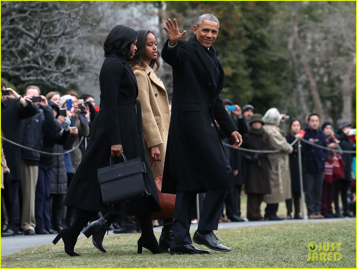 obama heads to farewell address with michelle malia 013840710