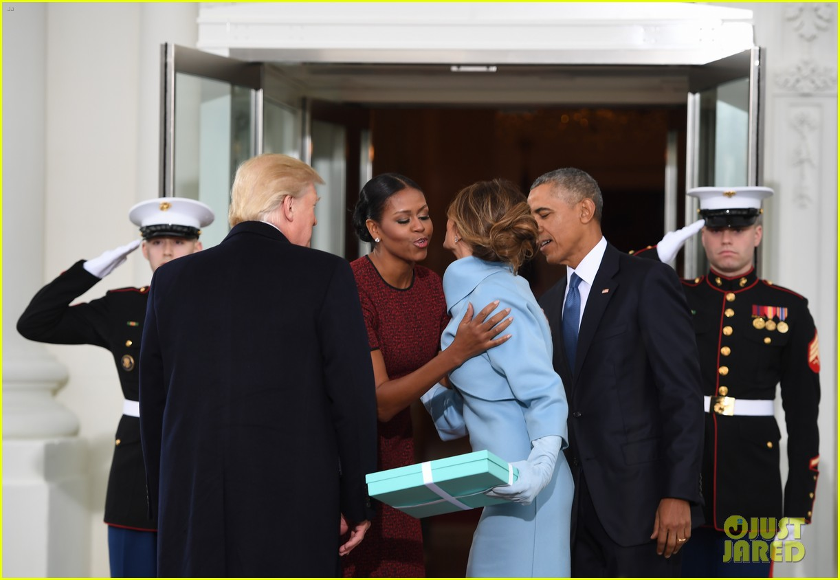 Video barack michelle obama greet donald melania trump at white video barack michelle obama greet donald melania trump at white house m4hsunfo Image collections