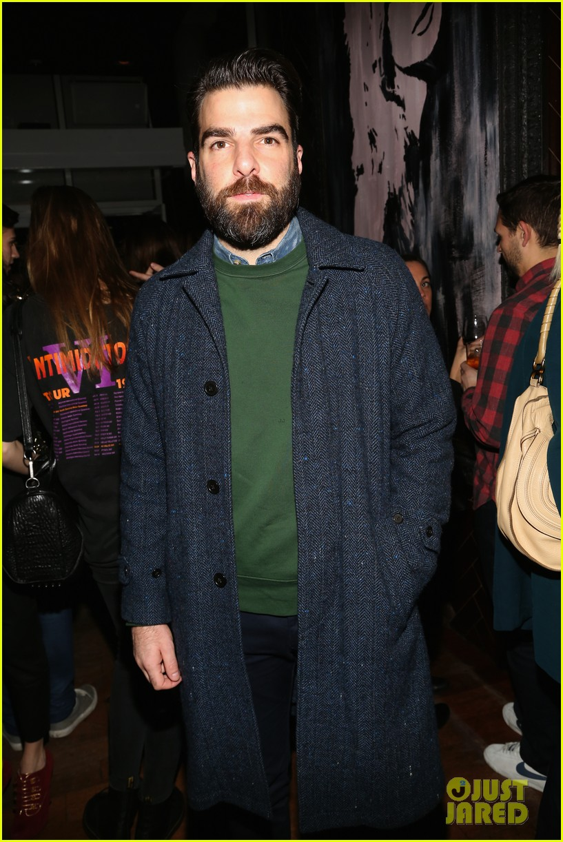zachary quinto joins the space between us stars at new york premiere 053847973