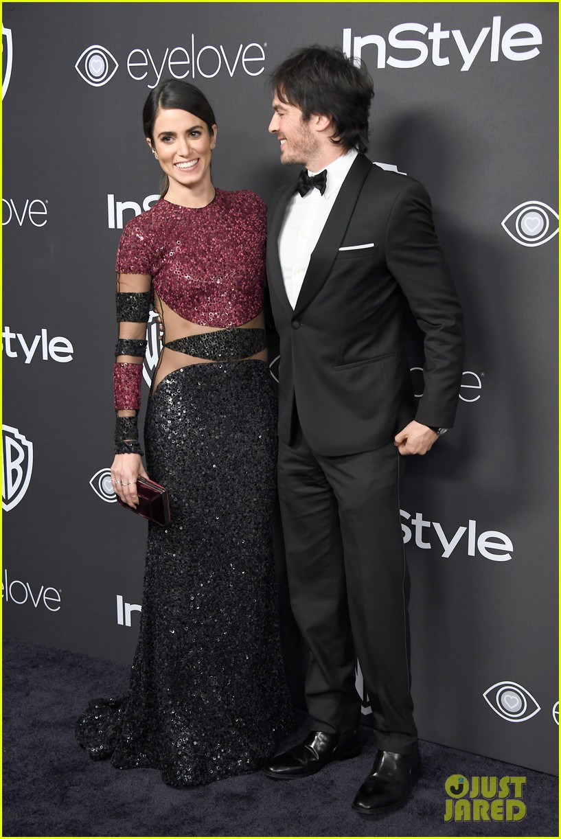 Ian somerhalder nikki reed make one hot couple at golden globes ian somerhalder nikki reed make one hot couple at golden globes 2017 after party m4hsunfo