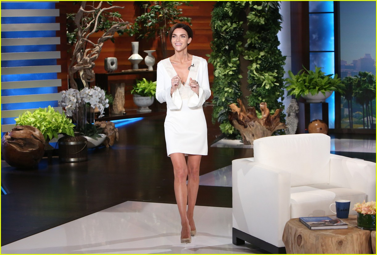 ruby rose ellen show appearance 023840412