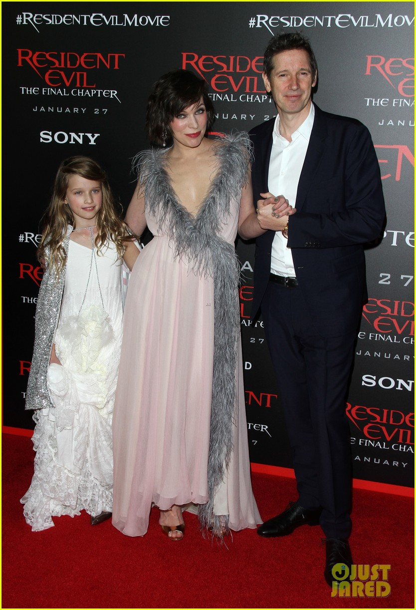 ruby rose joins milla jovovich family at resident evil l a premiere 053846991
