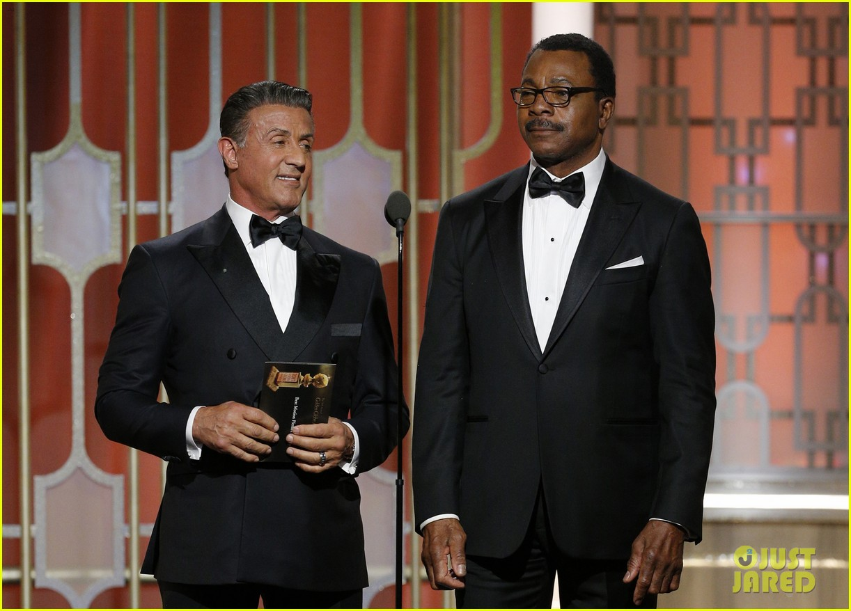 sylvester stallone carl weathers golden globes 2017 023839484