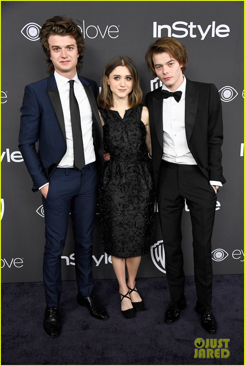 stranger things party netflix 2017 globes 033839962