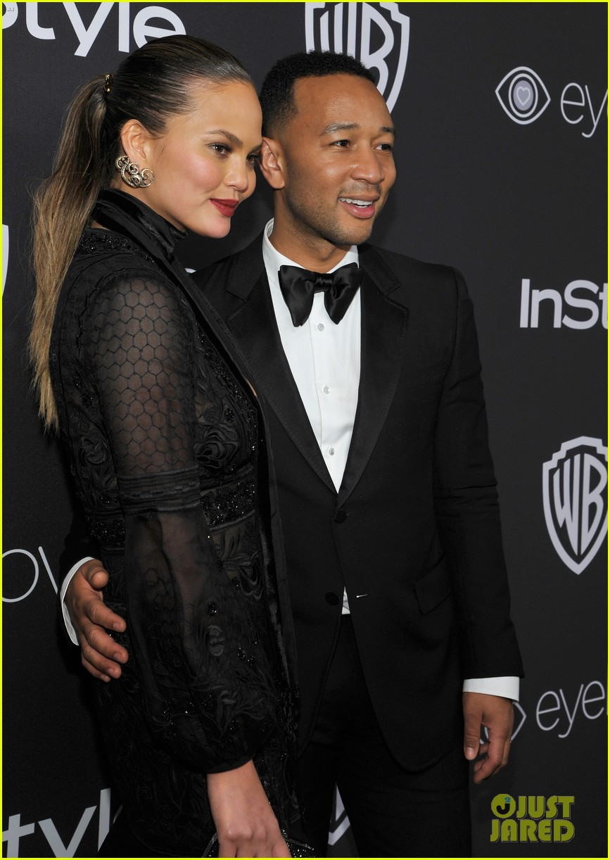 chrissy teigen john legend golden globes 2017 after party 043839630