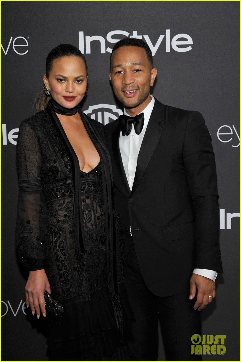 chrissy teigen john legend golden globes 2017 after party 073839633