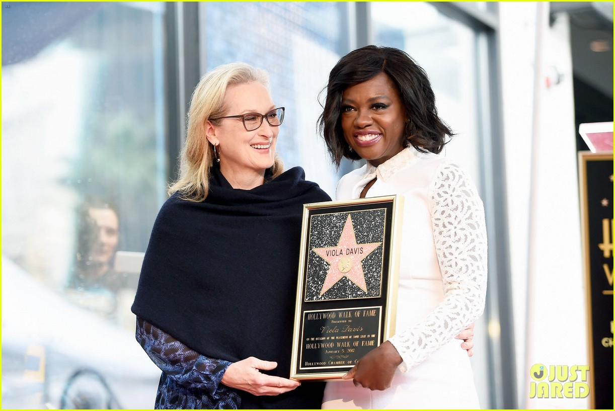 viola davis receives star on hollywood walk of fame 073837181