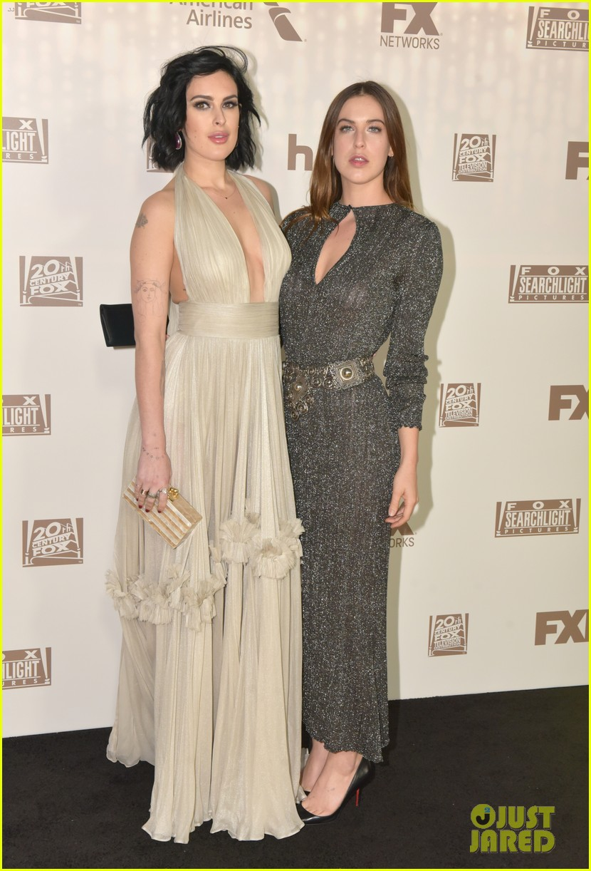 rumer scout willis sister up for golden globes 2017 after parties 293839821