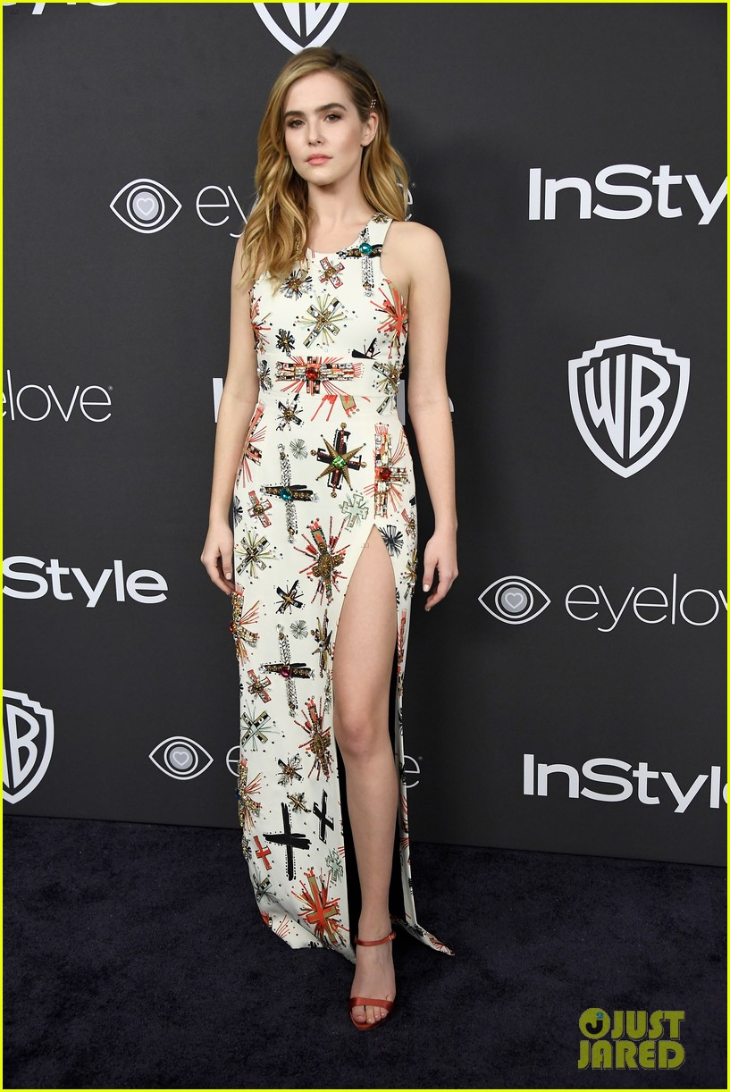 About Photo #3839937: Before I Fall's Zoey Deutch and Halston Sage bring their fashion finest to the 2017 Golden Globes! The pair stepped out separately at the InStyle & Warner… Read More Here