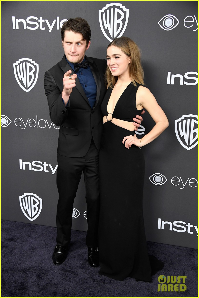About Photo #3839939: Before I Fall's Zoey Deutch and Halston Sage bring their fashion finest to the 2017 Golden Globes! The pair stepped out separately at the InStyle & Warner… Read More Here