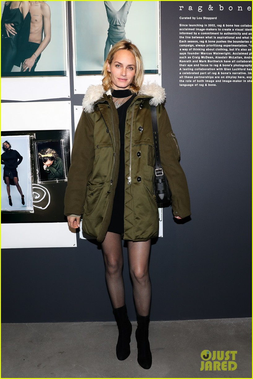 haley bennett debuts new pixie cut rag bone fashion show 143856717