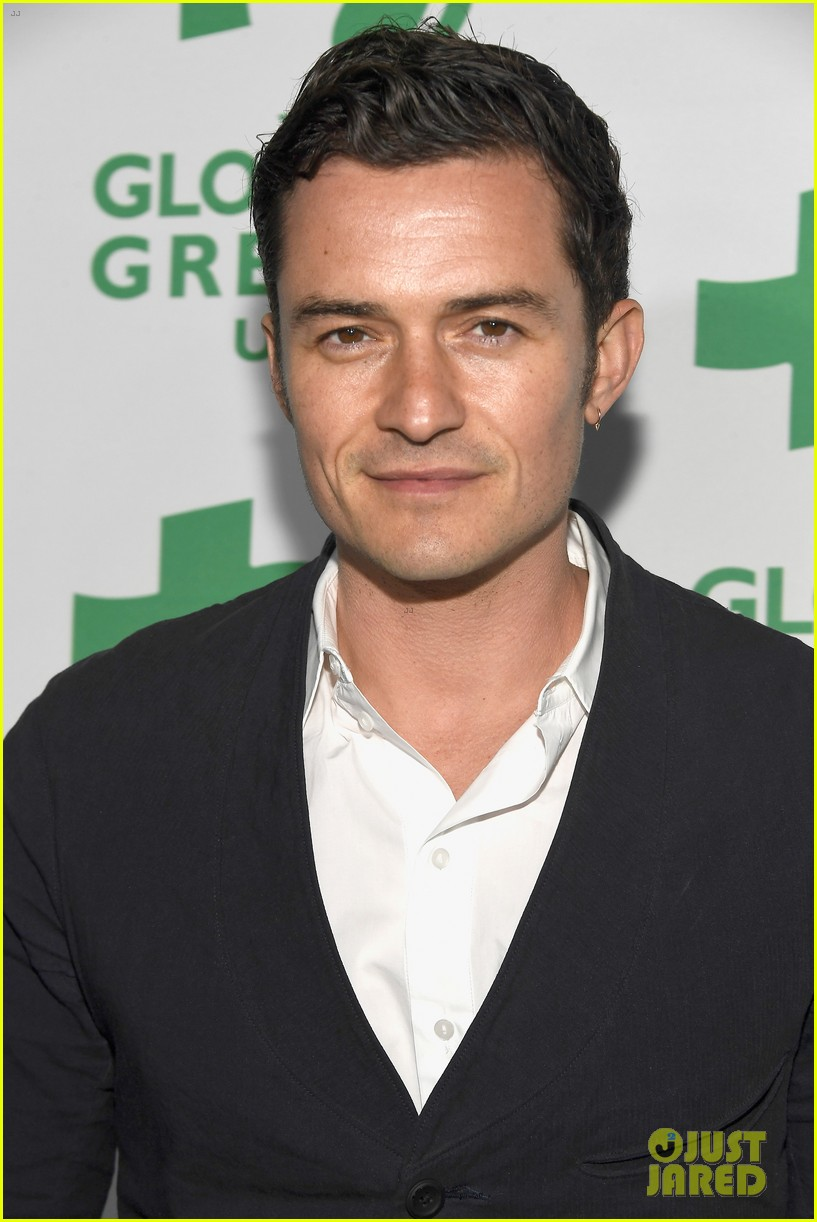 orlando bloom 2017 global green gala 113864168