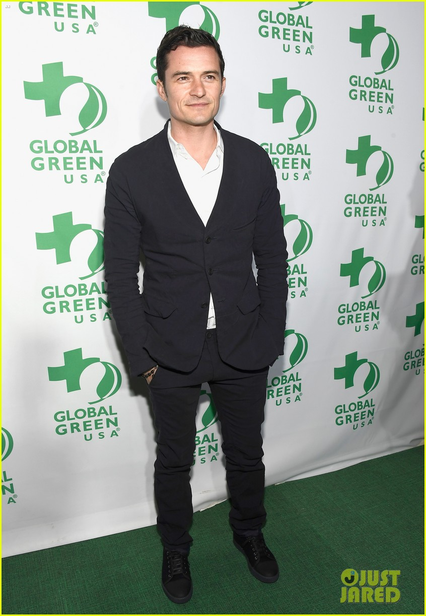 orlando bloom 2017 global green gala 143864171