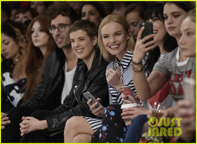 kate bosworth attends the house of holland fashion show 033862389