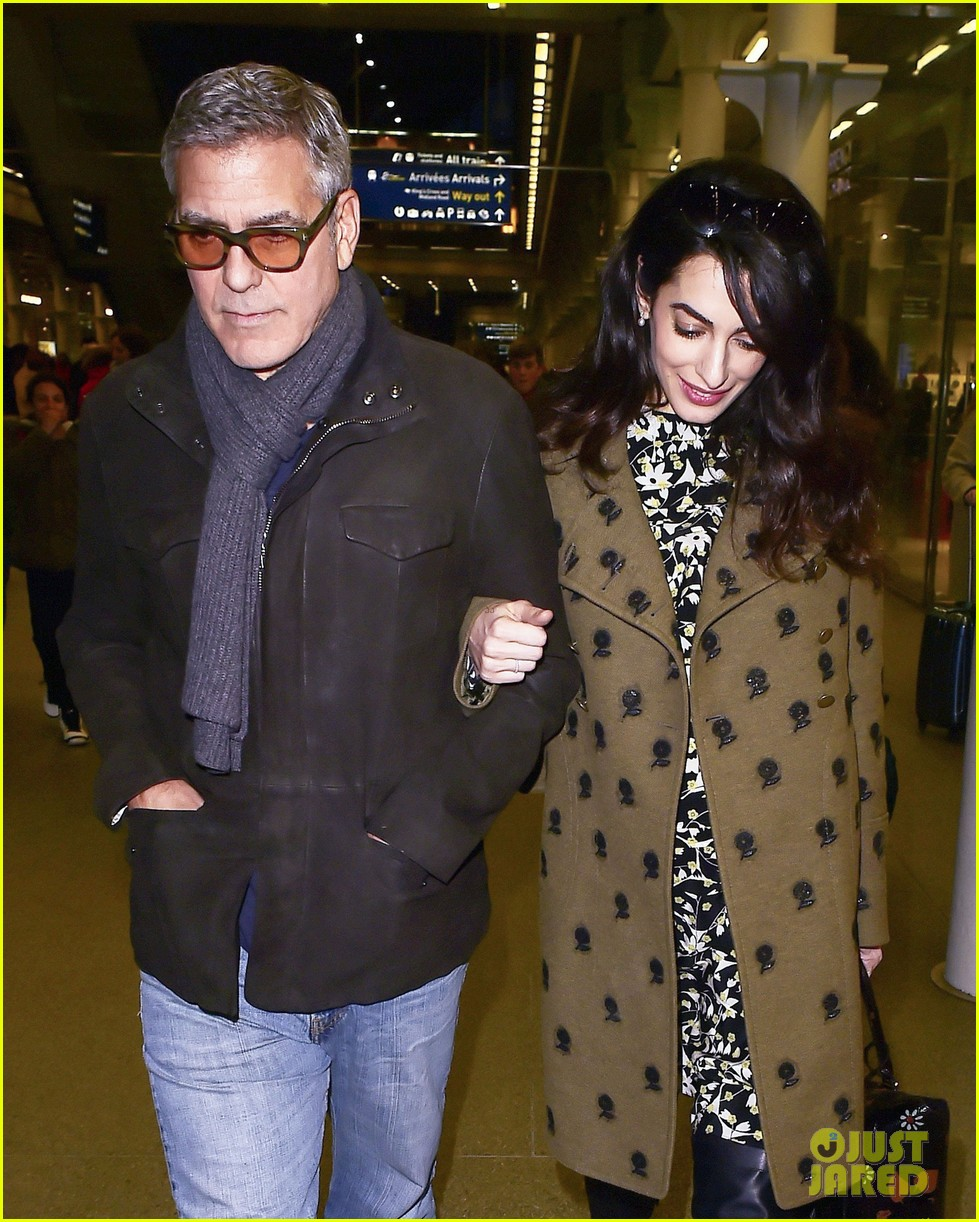 george clooney amal pregnant head to london after cesar awards 023866411