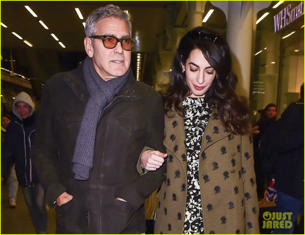george clooney amal pregnant head to london after cesar awards 093866418