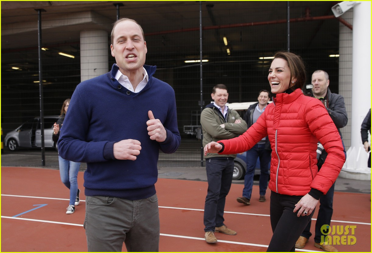 prince harry william kate run track 143853360