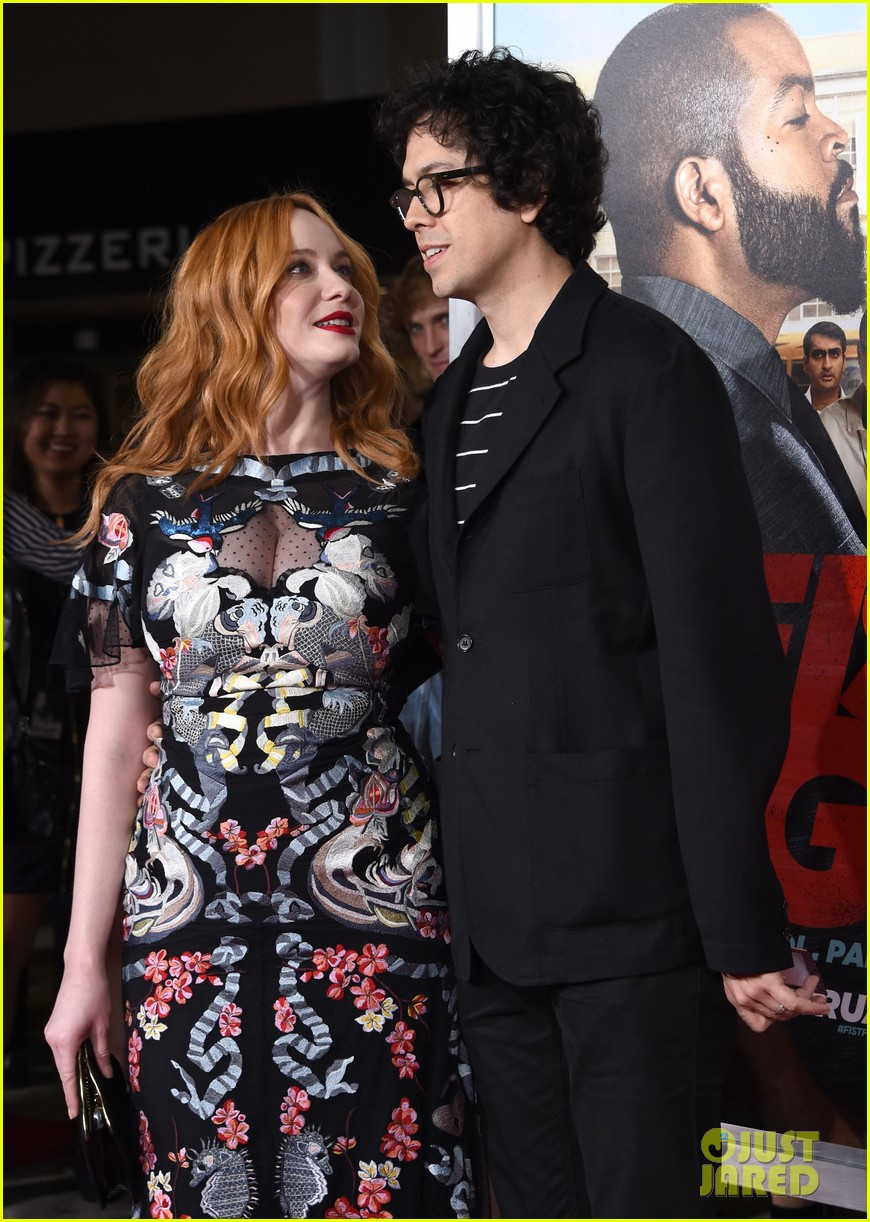 christina hendricks ice cube charlie day bring the funny with fist fight premeire 053859834