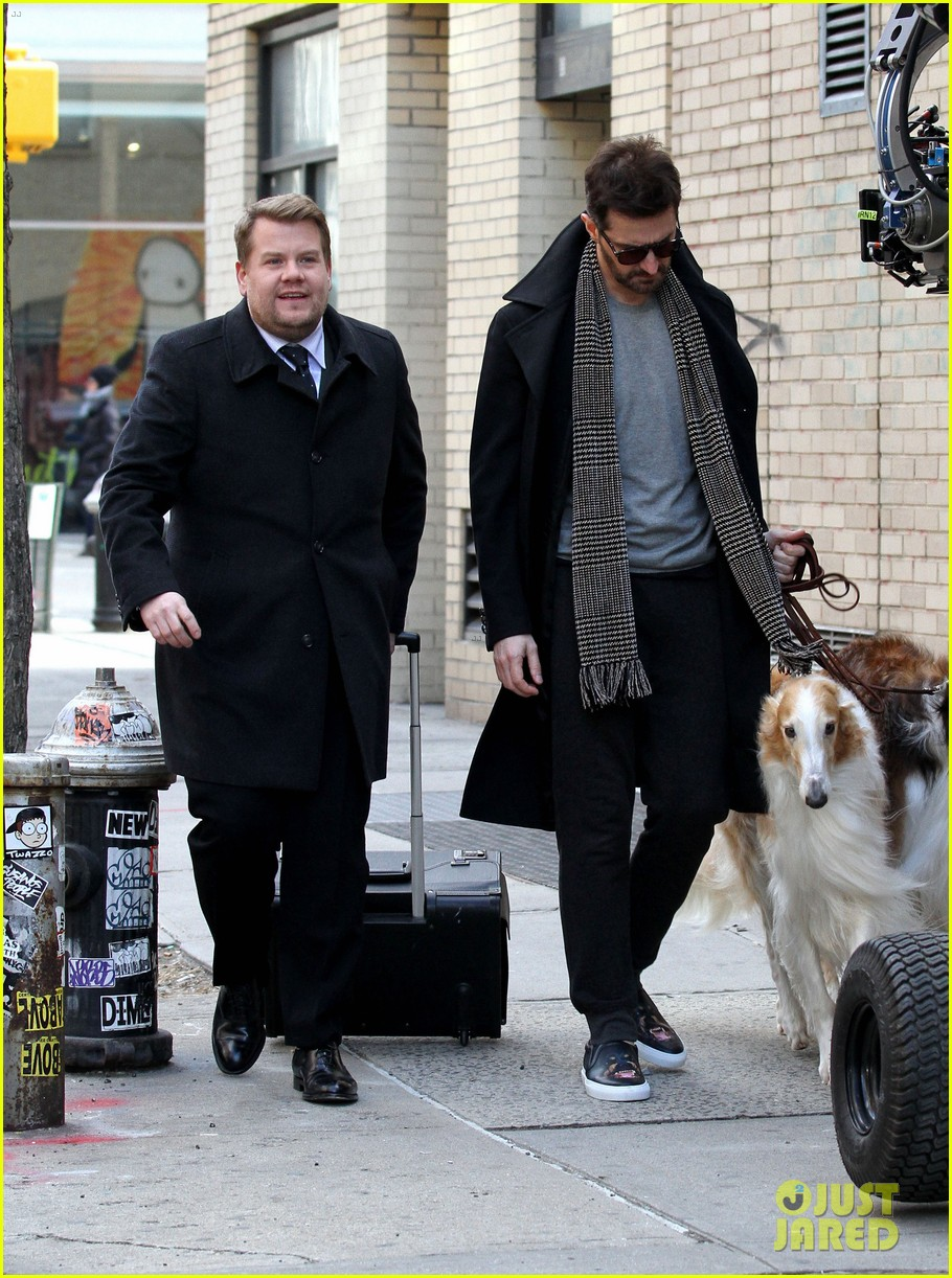 james corden films oceans eight cameo nyc 053851862