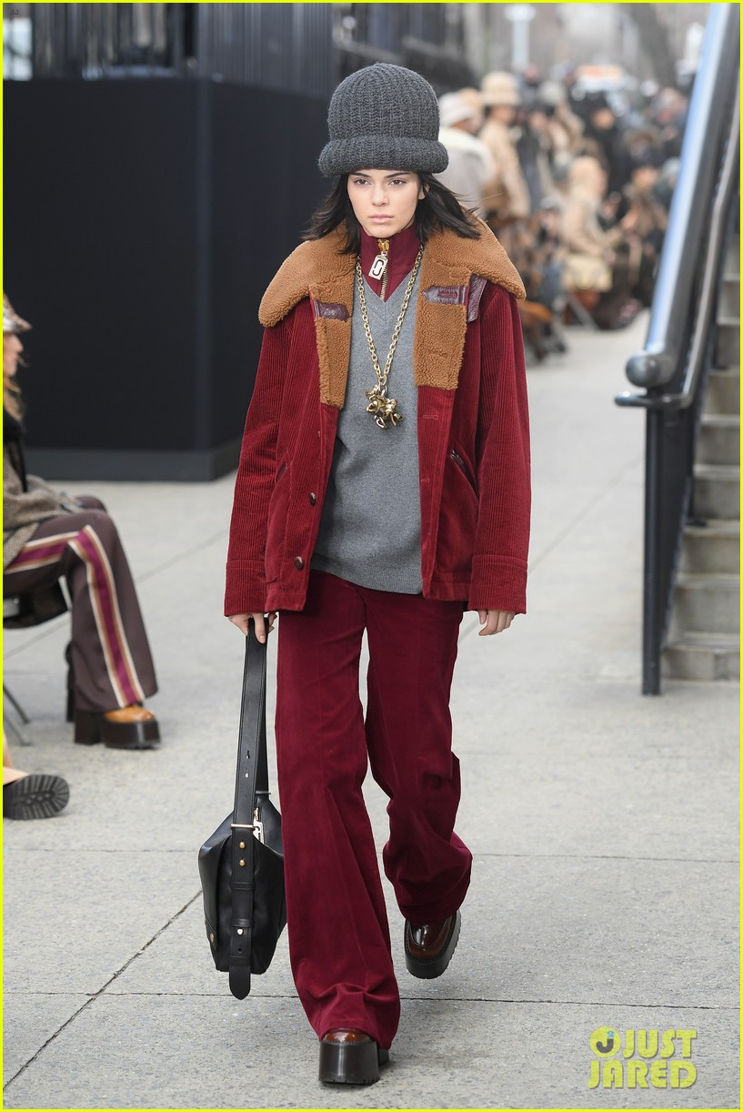 kendall jenner marc jacobs nyfw show 013861404