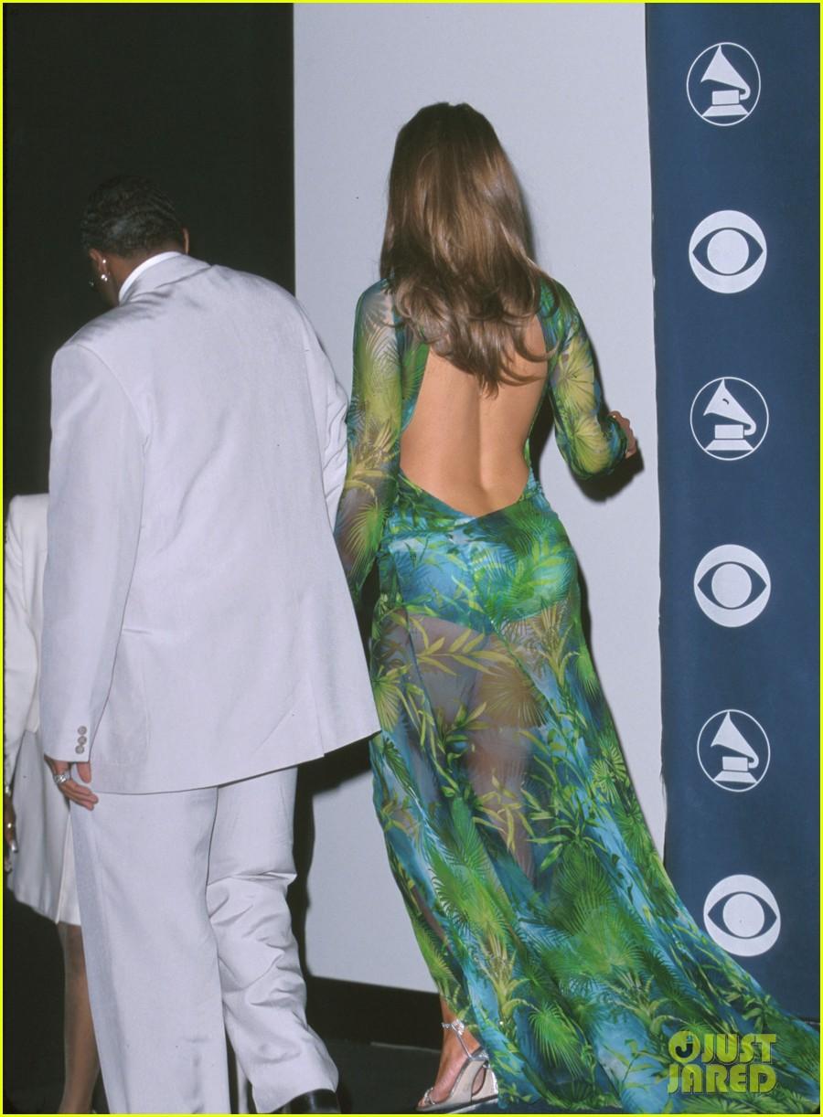 Jennifer Lopez Green Dress Fashion Magazine