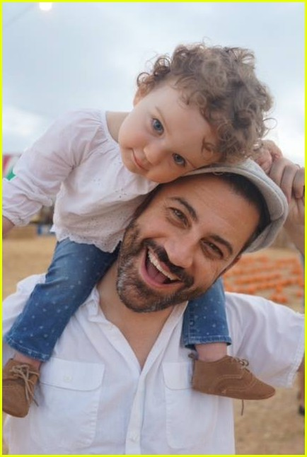 jimmy kimmel wife kids see cute family photos 033866340