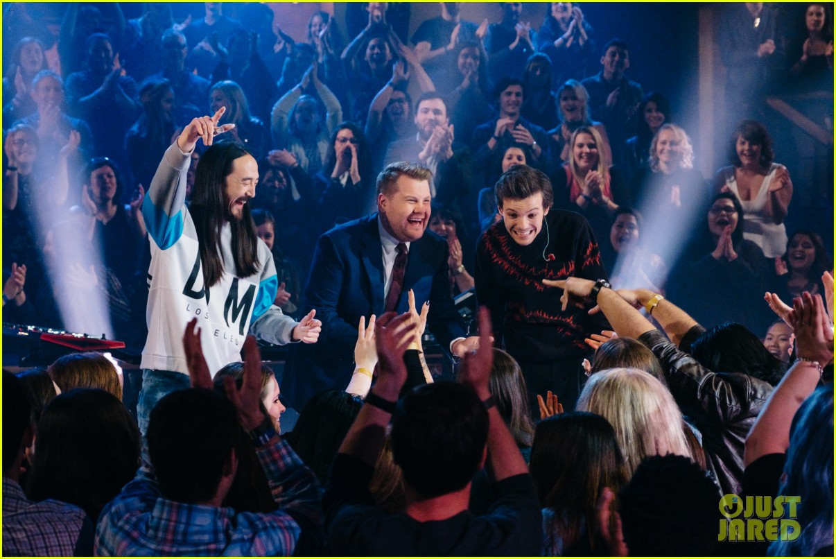 louis tomlinson steve aoki james corden late late show 033860110