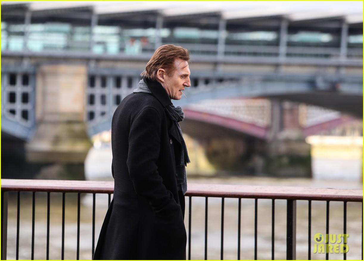 Love Actually' Reunion Set Photos: Liam Neeson & Thomas