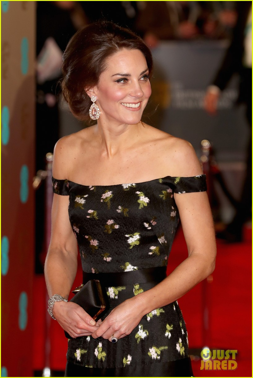 Kate Middleton Amp Prince William Join The Stars At Baftas