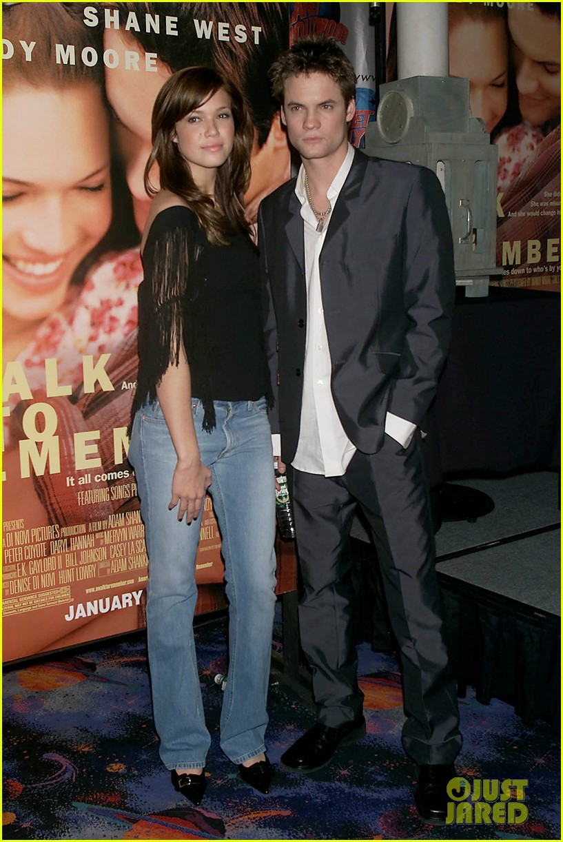 mandy moore shane west reunite a walk to remember 033854191